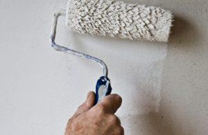 muur wit schilderen
